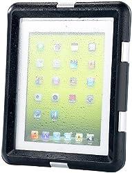 Genießen Sie volles iPad-Entertainment auch am Strand  Verschüttete Drinks, Wasserspritzer, Sandkörner  : Die Gefahren für Ihr iPad lauern an jeder Ecke! Das  wasserfeste Case  ist ein  praktischer  und  günstiger  Weg um Ihren Tablet-PC vor  Verschm...