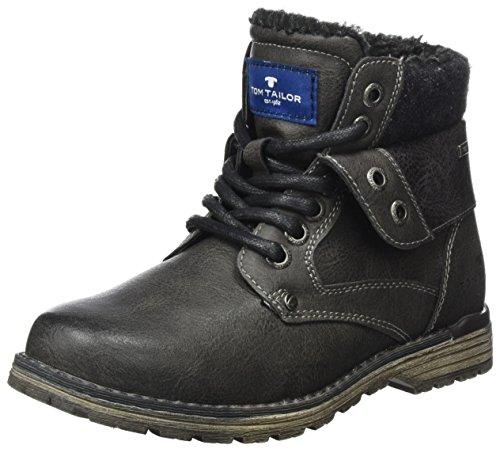 TOM TAILOR Jungen 3771101 Stiefel, Grau (Coal), 39 EU