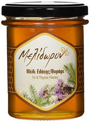 Melidoron Roher Griechischer Tannenbaum & Thymian Honig, 1 Pack (250 g) (Griechischer Reiner Honig)