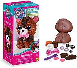 The Orb Factory PlushCraft Teddy Bear 3D Soft Craft
