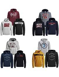 JACK & JONES Kapuzenpullover 3er Pack Hoodie Sweat Shirt Herren Baumwollmix S M L XL XXL