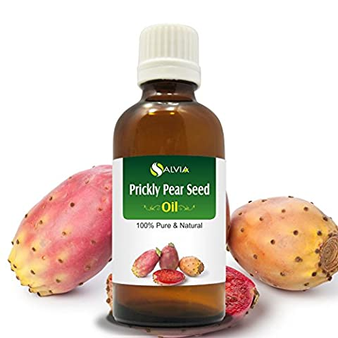 PRICKLY PEAR SEED OIL(OPUNTIA FICUS-INDICA) 100%NATURAL PURE CARRIER OIL 50ML
