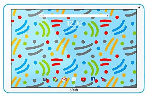 """SPC Glow - Tableta de 10.1"""" (Quad Core Cortex A7, memoria interna 8 GB, 1 GB de RAM, IPS HD, Android 6.0) - Azul"""
