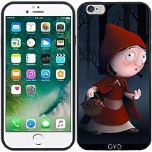 Custodia in silicone per Iphone 6/6S Plus - Cappuccetto Rosso by GiordanoAita