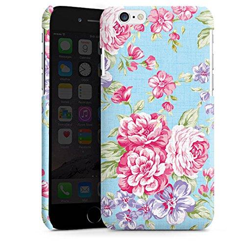 Apple iPhone 5 Housse Outdoor Étui militaire Coque Rétro Printemps Fleur Cas Premium brillant