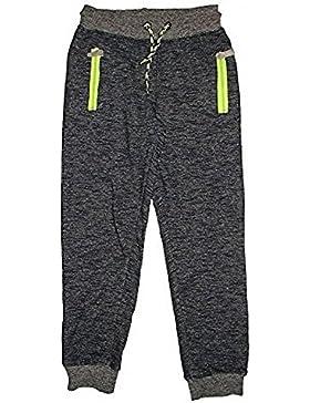 Pantalones de chándal con puños de algodón para niños de New Boy Bottoms Goggles de deportes deportivos