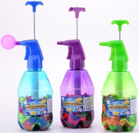 Johntoy 29454 Wasserballonpumpe mit Wasserballons thumbnail