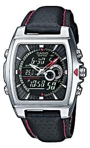 Casio Edifice – Men's Analogue/Digital Watch with Imitation Leather Strap – EFA-120L-1A1VEF