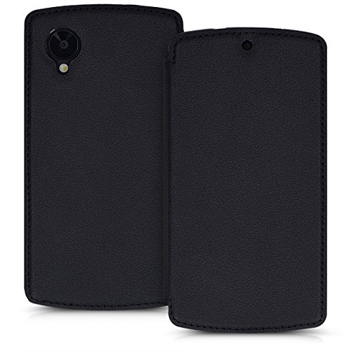 kwmobile LG Google Nexus 5 Hülle - Handyhülle für LG Google Nexus 5 - Handy Case Schutzhülle Klapphülle