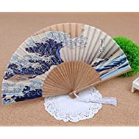 Fengh Traditionelle japanische ukiyo Art Prints Handheld faltbar fan