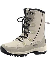 3STEAM Botas de nieve para Hombre botas de montaña impermeables Mujer botas de invierno