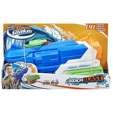 Hasbro Super Soaker B4438EU4 - Breach Blast, Wasserpistole (1 Soaker)