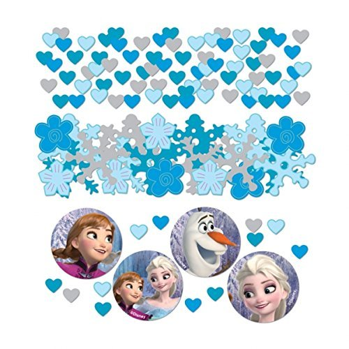 Disney Frozen Konfetti Party-Deko blau-bunt 34g Einheitsgröße (Disney Frozen Party)