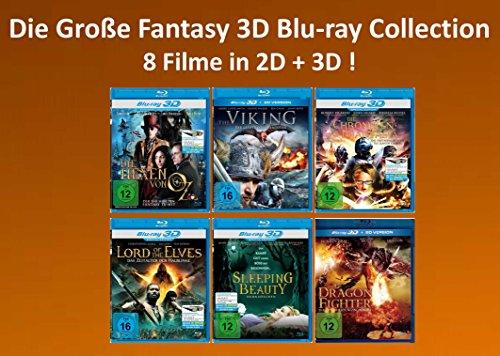 Die Große Fantasy 3D Blu-ray Collection (8 Filme in 2D + 3D)