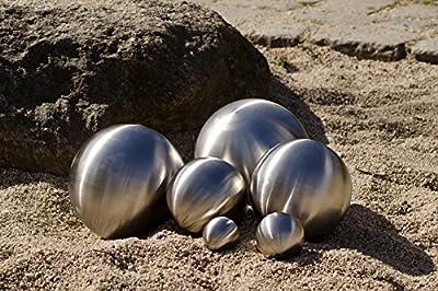 Köhko Dekokugel matt aus hochwertigem Edelstahl 3-18 cm Gartenkugel Edelstahlkugel Teichkugel von Köhko bei Du und dein Garten