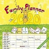 Familienplaner 2020 - Broschürenkalender (30 x 60 geöffnet) - Wandkalender - mit 6 Spalten - mit Ferienterminen - Wandplaner: by Silke Leskin - ALPHA EDITION