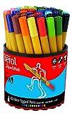 Berol S0375930Feutres Pinceaux ColourBrush de Pointe de 1,5mm, Assortiment de Couleurs Lot de 42