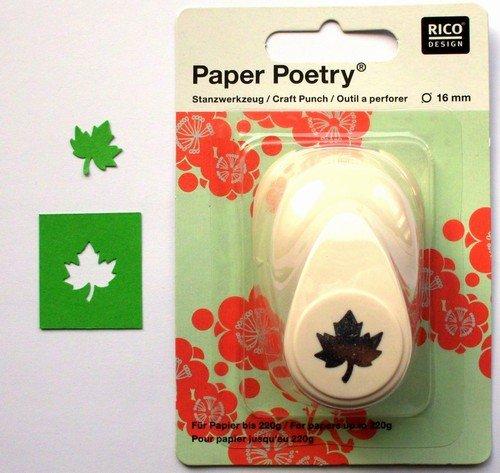 Rico Design Maple Leaf, beige, 16mm -