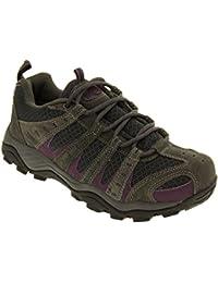 Ladies Montana/pino totalmente impermeable senderismo/senderismo cordones Trainer Shoe