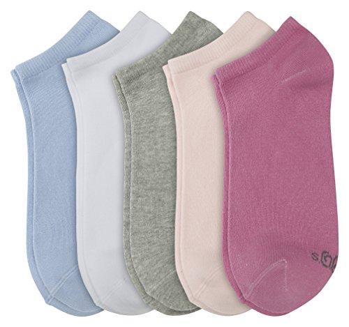 s.Oliver Socks Damen Füßlinge & Sneakersocken Unisex Sneaker 5p, 5er Pack, Rosa (Super Pink 13), 39/42 (39/42)