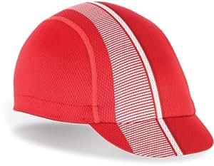 Giro Peleton Cycling Cap - Red/White, One Size