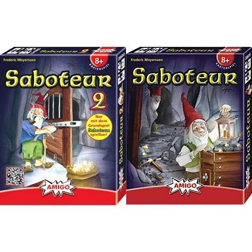 AMIGO 04980 - Saboteur 2, Kartenspiel &  Spiele 4900 - Saboteur