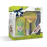 Geschenkeset bestehend aus 1 Stck.Furminator Hund L langhaar /1 Stck. Waterless Spray / 1 Stck. Handtuch