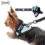Dog Lemi Weste Hundegeschirr mit Klettverschluss für Service Hund Schilder