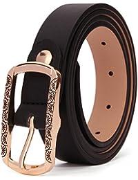 6ea874dcc631 XIANGUO Ceinture femme en cuir ceinture mode delicate ceinture élégante