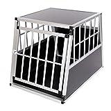 zoomundo Auto Transportbox voor Honden Kofferbak Box Autobox Aluminium - 1 Deuren Premium