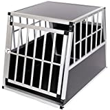 cage box caisse de transport chien mobile aluminium xxl double animalerie. Black Bedroom Furniture Sets. Home Design Ideas