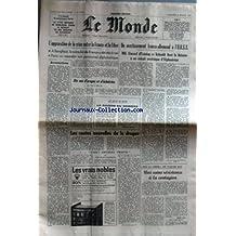 MONDE (LE) [No 10893] du 06/02/1980 - LA SYRIE REPORTE LE RETRAIT DE SES TROUPES DE BEYROUTH - AGGRAVATION DE LA CRISE ENTRE LA FRANCE ET LA LIBYE - AVERTISSEMENT FRANCO-ALLEMANDE A L'U.R.S.S. - G. D'ESTAING ET SCHMIDT - AFGHANISTAN - LES ROUTES NOUVELLES DE LA DROGUE PAR COLOMBANI - SUR LA CHINE PAR CLAUDE ROY.