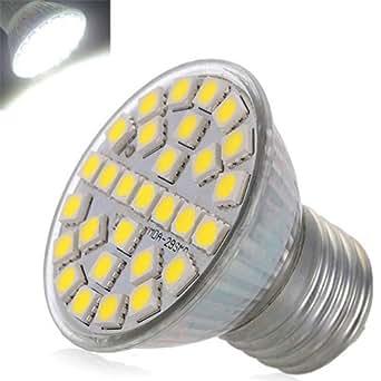 E27 29 LED 5050 SMD BLANC LUMIERE LUMINAIRE AMPOULES BULB SPOT 220V 5W 480lm 6500K