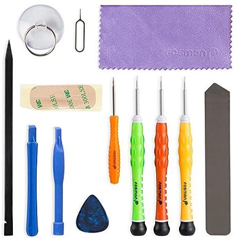 Fosmon 13 pièce ouverture complète + outils de réparation Screw