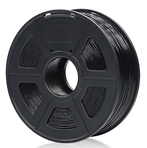ANYCUBIC PLA 3D Drucker Filament, Toleranz beim Durchmesser liegt bei +/- 0,02mm, 1kg Spule, 1.75mm für 3D-Drucker und 3D-Stifte,Verschiedene Farben (Schwarz)
