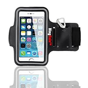 Bingsale Brassard Armband Sport pour iPhone 6 Plus 5.5'' (iPhone 6 Plus, noir)