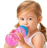 Produkt-Bild: Nuby ID9648 - Easy Grip Cup aus PP, 295 ml mit auslaufsicherem Trinkmundstck aus Silikon