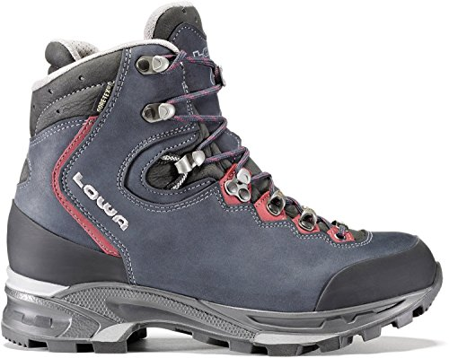 Lowa Mauria Gtx Ws, Stivali da Escursionismo Donna DUNKELBLAU/BORDEAUX