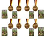 KSS 8 x Geschicklichkeitsspiel Fußball + 8 x Medaillen Kugelspiel Labyrinth Flipper Kindergeburtstag Mitbringsel Mitgebsel der Klassiker