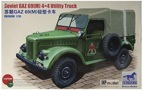 Unbekannt Bronco Models cb35096 - Modèle Kit GAZ 69, M 4 x 4 Utility Truck