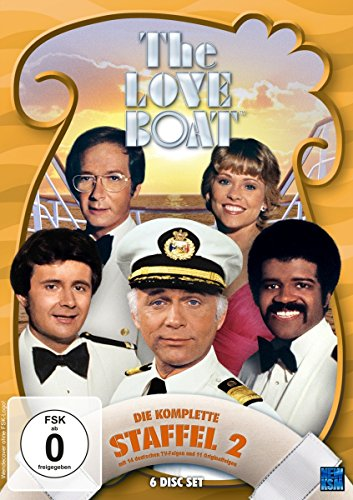 The Love Boat - Staffel 2: Episode 25-49 [6 DVDs]