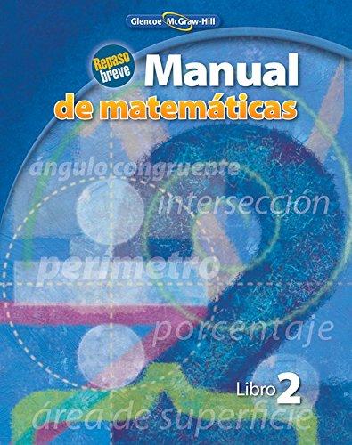 Manual de Matematicas, Libro 2: Repaso Breve (Math Applic & Conn Crse)