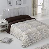 DECOARTESANAL-Funda Nordica 3pz. DAMASCO BEIGE,cama 150cm