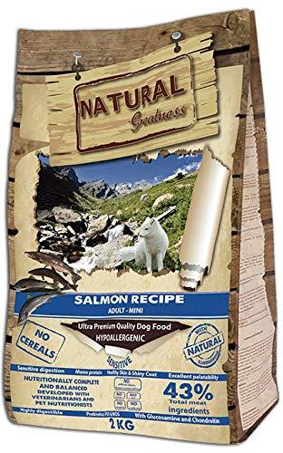 Natural Greatness Salmon Recipe Mini Alimento Seco