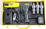 REMS Pressmaschine Akku Press ACC Nr 571014 + 3 Pressbacken Presszangen M oder V