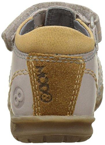 Bege Sapatos Rastejando Bebé ocre Imail Bege Mod8 SFRHqwT