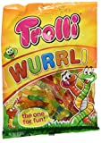Trolli Wurrli mit Fruchtsaft, 9 -er Pack (9 x 200g)