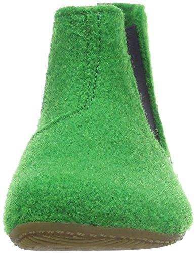 Living Kitzbühel Jungen Chelsea Boot Hausschuhe Grün (emerald 441)