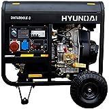 Generador diesel rental DHY6000LEK Hyundai 5500W