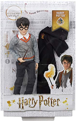 51r5Tyw7r2L - Harry Potter Muñeco Harry de la colección de Harry Potter (Mattel FYM50)